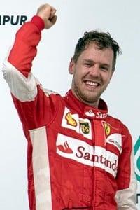 Sebastian Vettel terzo al gp di Cina