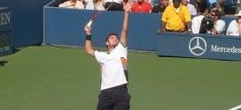 il servizio perfetto nel tennis